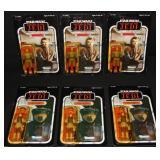 (6) Star Wars ROTJ Figures, Princess Leia & Madine