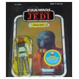 Star Wars ROTJ Carded Sample Klaatu on Walrus Man