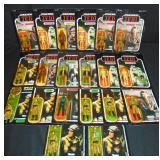 (20) Star Wars ROTJ & POTF Action Figures, Damaged
