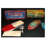Lot of Two Toy Boats.