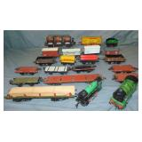 18Pc Mostly Hornby Trains Lot