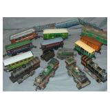 Large Krause Toy Train Group