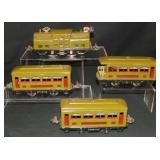4pc Clean Lionel 252 Passenger Set