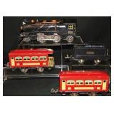 Clean 4pc Lionel 261E Steam Passenger Set