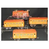 4Pc Lionel 252 Passenger Set