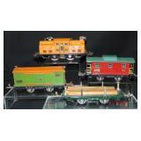 4pc Lionel 252 Freight Set