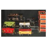 6pc Lionel 262 Steam Freight Set