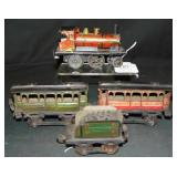 Early French Steam Passenger Set