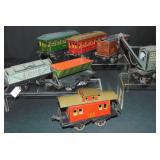 7 Krause O Ga Train Cars