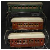 3 Marklin Passenger Cars