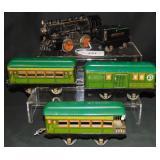 5Pc American Flyer Steam Passenger Set
