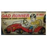 Rare Boxed Marx Road Runner Pedal Car