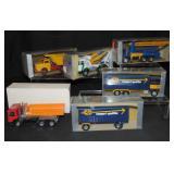 6 Boxed Conrad Diecast Trucks