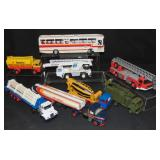 8 Conrad Diecast Vehicles