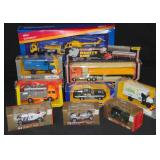Mixed Lot 9 Diecast Vehicles