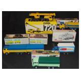 6 Boxed Nacoral & Geischa Diecast Vehicles