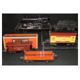 Clean Lionel 203 Steam Freight Set