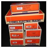8Pc Lionel Freight Car Lot