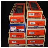 8 Modern Lionel Freight Cars