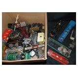 Large Lot Toy Train Parts & Projects