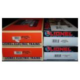4 Lionel TTUX & Maxi-Stack Cars