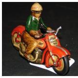 Clean Schuco Curvo Motorcycle