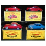 4 Variations Matchbox 65 Jaguar 3.8