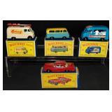 4 Boxed Matchbox BPW Vehicles