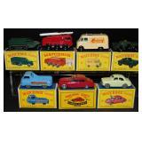 7 Boxed Matchbox Vehicles