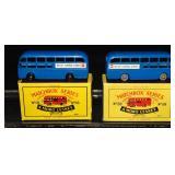 2 Variations Matchbox 58 BEA Bus