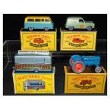 4 Early Matchbox Vehicles