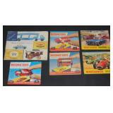 Early Matchbox Catalogs