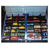 Full Matchbox 1966 Showcase Vehicle Case