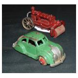 Cast Iron Tractor & Lincoln