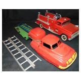 2 Vintage Fire Trucks