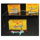 3 Boxed Dinky Aircraft