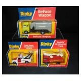3 Boxed Dinky Vehicles