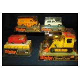 4 Boxed Later Dinky Vehicles