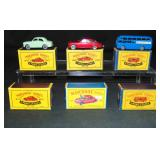2 Each of 3 Boxed Matchbox Vehicles