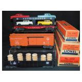 3 Boxed Lionel Freight Cars