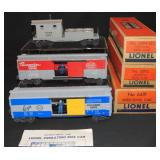 3 UNRUN Lionel Freight Cars