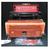 Clean Late Lionel 3814 & 2817 Freight Cars