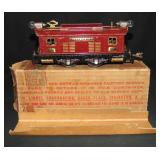 Unusual Boxed Lionel Maroon 253 Loco