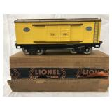 Clean Boxed Lionel late 214 Boxcar
