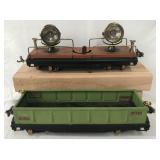 Nice Lionel 820 & 812 Freight Cars