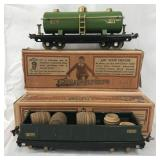 Boxed Lionel 815 & 812 Freight Cars