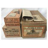 EMPTY Lionel 262 Boxes & Master Carton