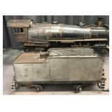 3 1/2 Inch Gauge Live Steam Pacific Locomotive