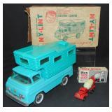 Boxed Nylint Custom Camper & Rex Mixer