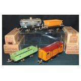 4 Boxed Lionel 800 Series 4-Wheel Freights